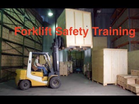 Forklift Safety Video - OSHA Training for Forklift Operators