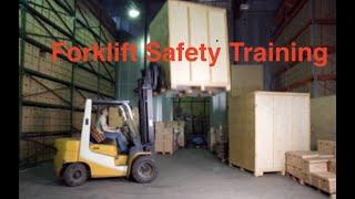 Forklift Safety Video  OSHA Training for Forklift Operators