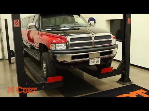 How To Install A SNOWSPORT® Snow Plow Front Mount On A 1995 Dodge Ram