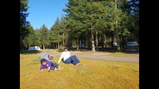 Easter Caravan Camping in Nairn near Inverness Scotland