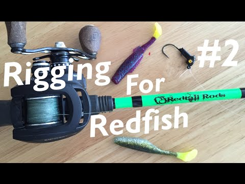 How to Rig Soft Plastics! | Rigging for Redfish 2