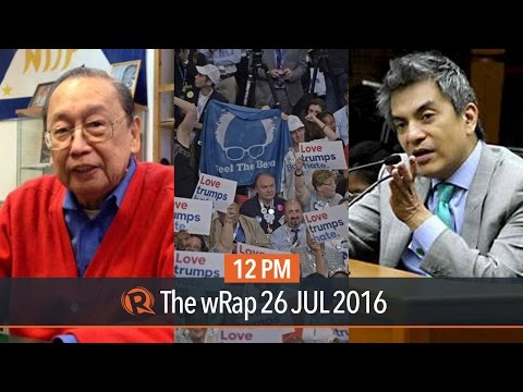 CPP-NPA on ceasefire, Tiangco leaves UNA, Democrats clash | 12PM wRap