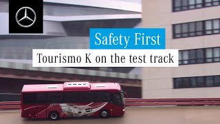 Mercedes-Benz Buses: Tourismo K on the test track
