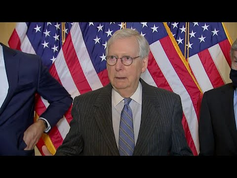 Stimulus Standoff: McConnell Says GOP Will Fight Biden Plan in Every Way - Bloomberg Politics