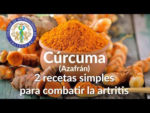 Beneficios de la Cúrcuma en Pacientes con Artritis Reumatoide.