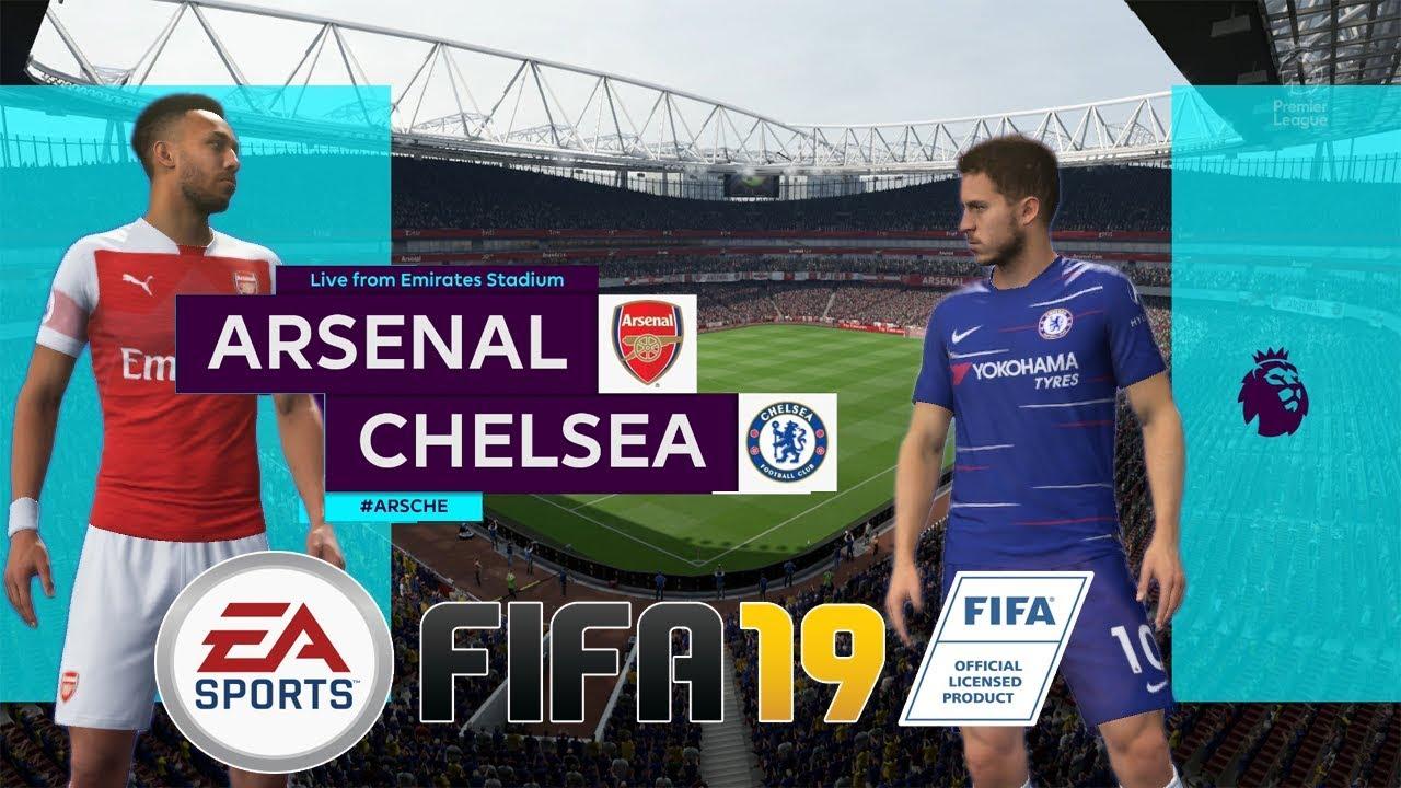 FIFA 19 - Arsenal vs Chelsea - Premier League 2018/19 - Gameplay PC