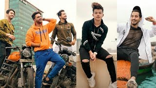tiktok superstar team07 mr.faisu hasnain adnaan faiz & shifu saddu.new famous musically video