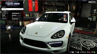 【GTA5 実車MOD】ポルシェカイエンターボ(Porsche Cayenne Turbo)