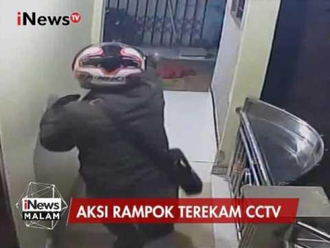 Perampokan Sadis Terekam CCTV, Pelaku Membabi - buta Menembak Pemilik Rumah - iNews Malam 07/03