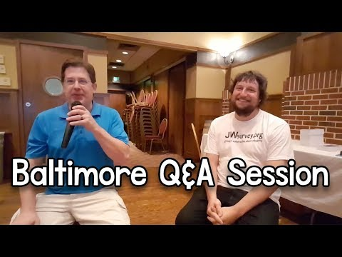 Baltimore Q&A Session