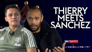 'I joined Man Utd to win everything!' | Thierry Henry meets Alexis Sanchez