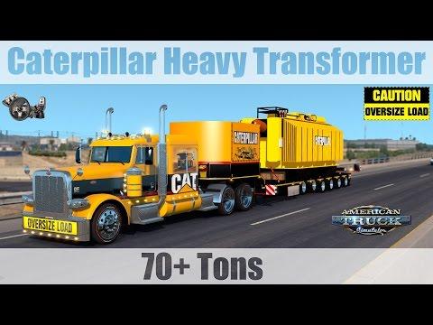 ATS Mods - OVERSIZE 70+ Tons Caterpillar Heavy Transformer