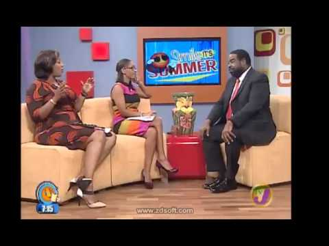 Les Brown on Smile Jamaica
