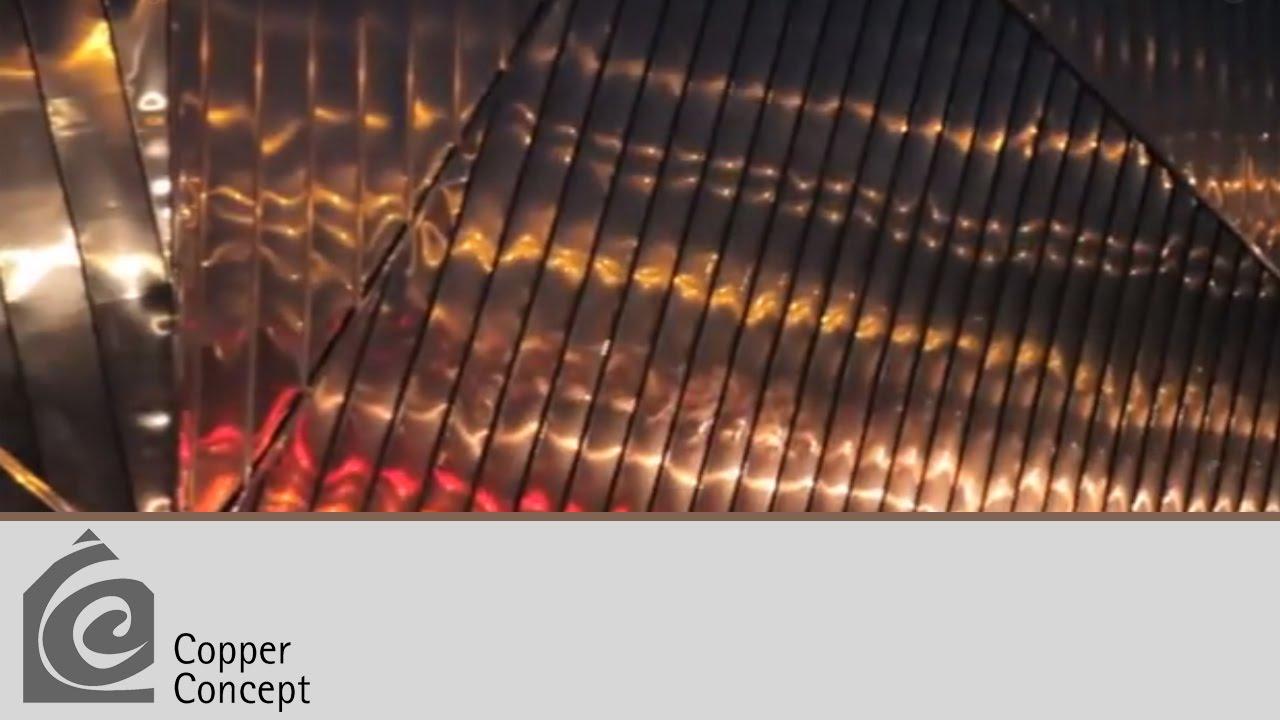 Muzeum Ognia w Żorach - Miedź w Architekturze
