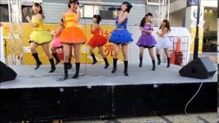 20141228 全力Girl☆なななな「全力Girl」 リリイベ タワーレコード横浜...