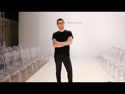 Fashion designer Christian Siriano