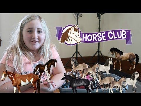 ALL MY SCHLEICH HORSES  IN ONE VIDEO