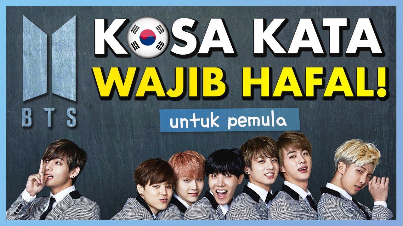 Kosakata Bahasa Korea yang Wajib Dihafal untuk Pemula (ft.BTS) - YouTube