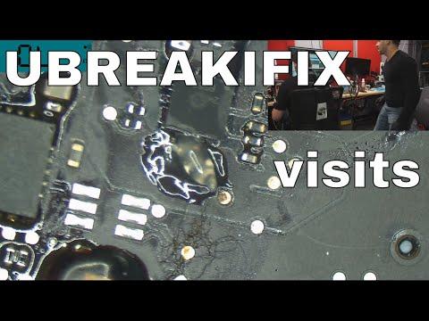 UBREAKIFIX visits for a board repair!