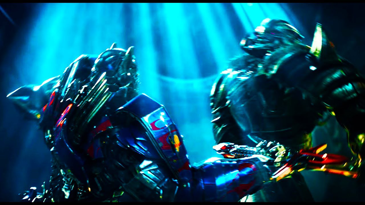 Transformers 5 The Last Knight (2017) Optimus Prime vs ...