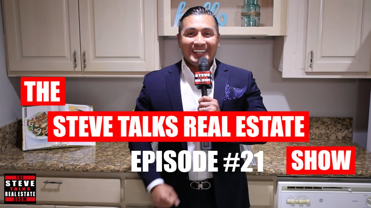 What to do when a seller rejects your offer? - The Steve Talks Real Estate Show Episode #21