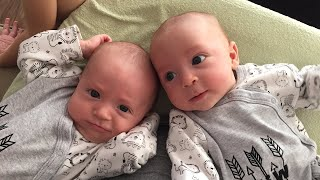 Twin Babies Most Funny and Cute Moments - Funniest Home Videos