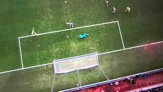 Adam Johnson goal Newcastle 0 Sunderland 3, 1st February 2014