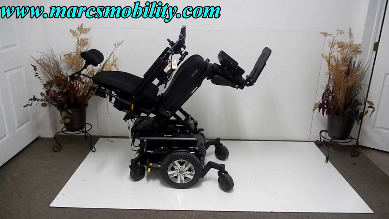Wheelchair Accessories Ebay Kids Upholstered Chair Quantum Q6 Edge 2 0 Ilevel Used Power With 10 Lift Youtube