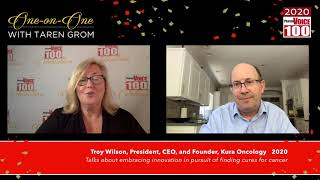 Troy Wilson, Kura Oncology – 2020 PharmaVOICE 100 Celebration
