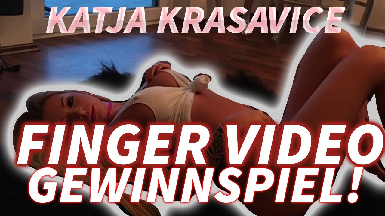 Katja krasavice fingert sich