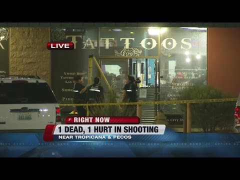 UPDATE: 1 dead, 1 injured in Sin City Ink shooting