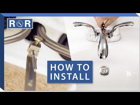 bathroom-faucet-installation-(2-handle-centerset-|-integrated-lines-/-pop-up-drain)