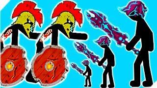 БЕСПОЩАДНЫЕ ЗОМБИ ЖРУТ ВСЕХ - Stick War Legacy zombie