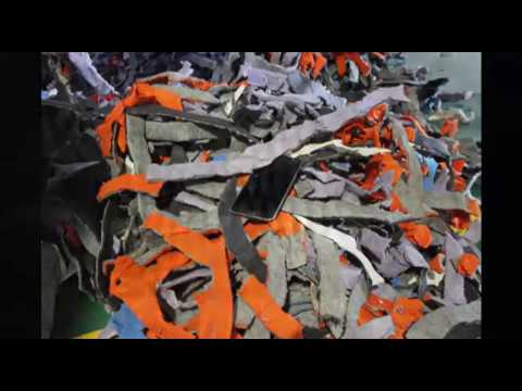 Textile Waste Shredder