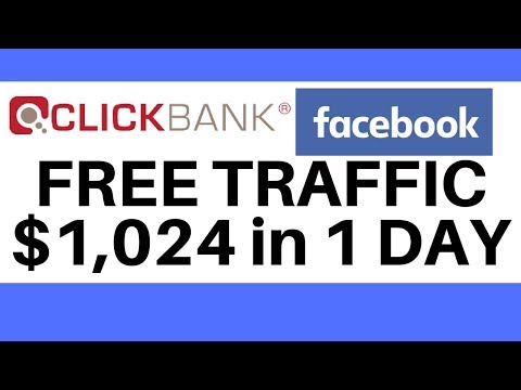 How To Promote Clickbank Products Without A Website With Free Facebook Traffic