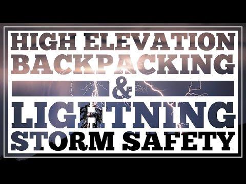 High Elevation Hiking Tips and Lightning Storm Protection CleverHiker.com