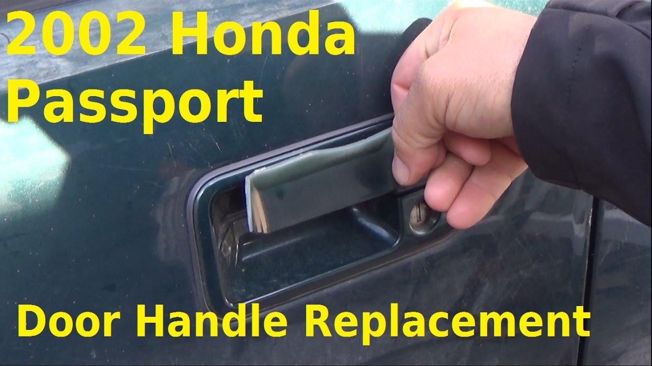 2002 Honda Passport Exterior Door Handle Replacement Automotive Education Youtube