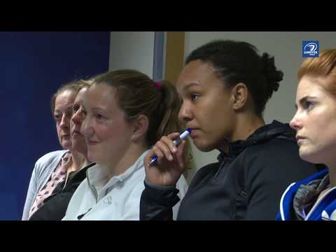Women in coaching workshop at Leinster HQ