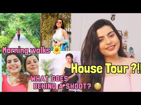VLOG : Morning Walks ,Struggles Of Being a Content Creator & QnA(House Tour ?!)   Yashita Rai