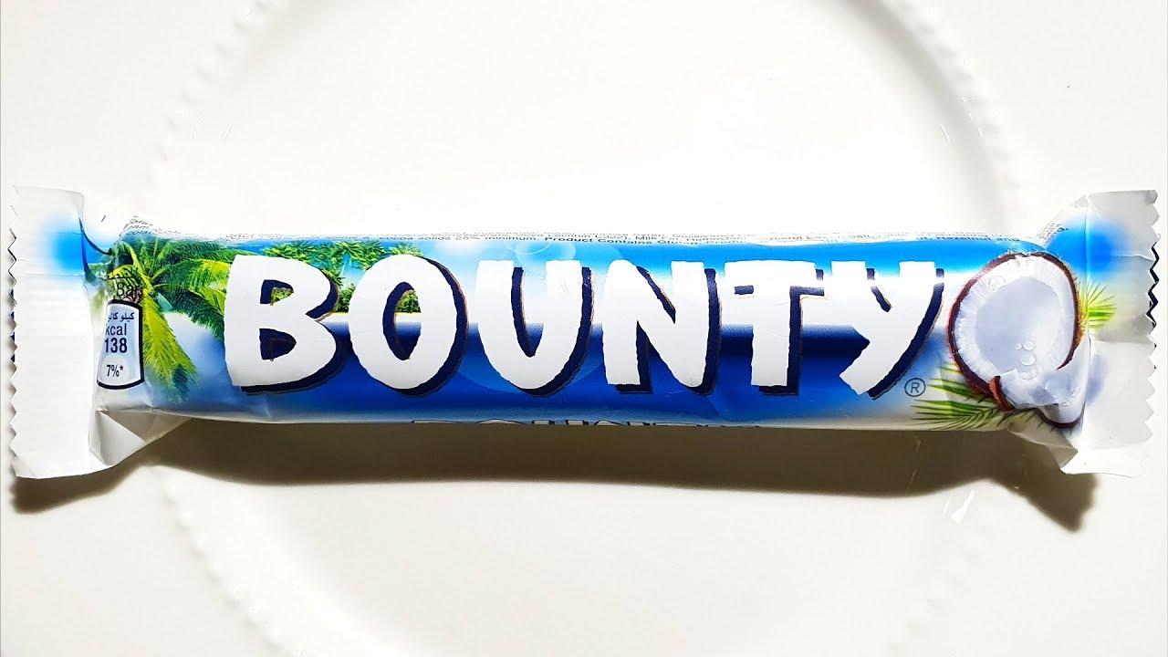 السعرات الحرارية في باونتي قطع جوز هند بالشوكولاتة Youtube