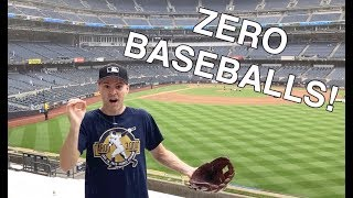 My streak is over -- first game WITHOUT catching a baseball in 26 years