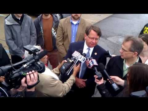 Congressman Gary Peters & Detroit Residents Speak About Petr