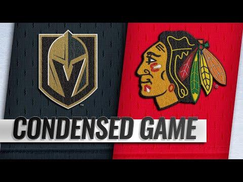 01/12/19 Condensed Game: Golden Knights @ Blackhawks
