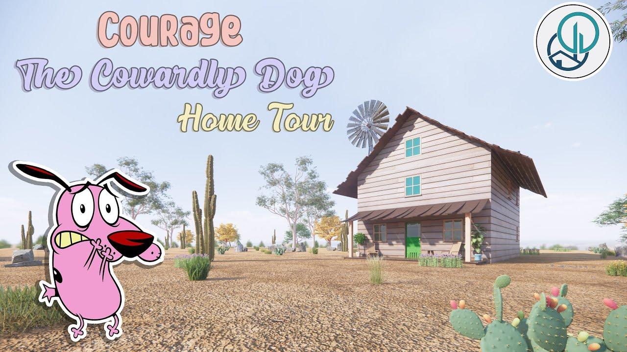 Cowardly Dog House