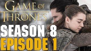 Игра Престолов. 1 серия 8 сезона. Обзор. 2-я часть