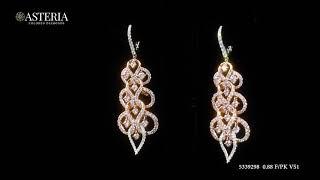#JCEF05339298# 2.38CT Pink Diamond Earrings Asteria