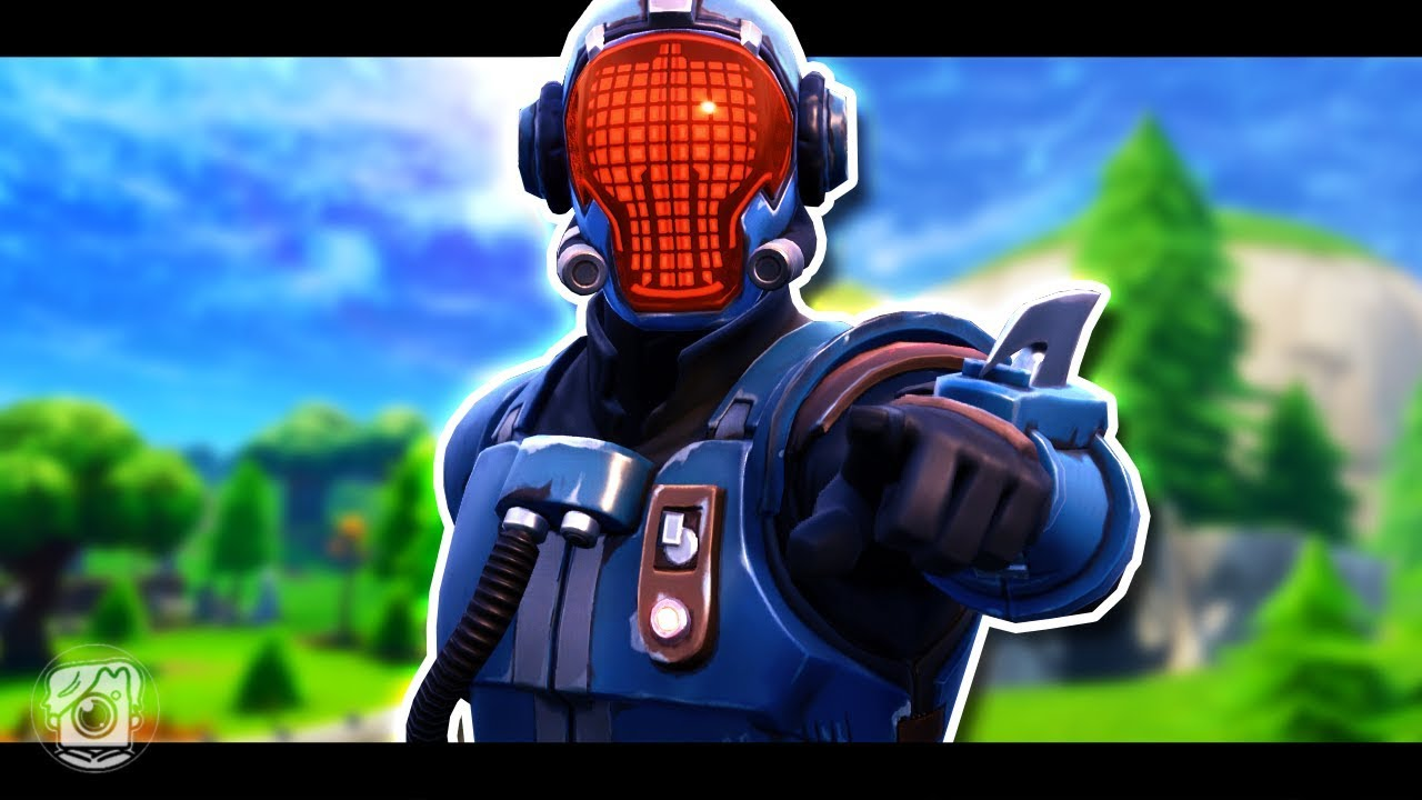 VISITOR'S SECRET PAST *NEW BLOCKBUSTER SKIN* - Fortnite ...