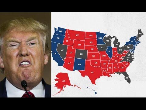 Trump Campaign's Dishonest & Delusional Election Map