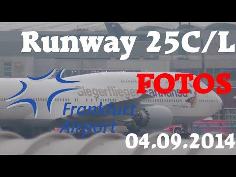 Frankfurt Airport 25C/L Spotting Fotos [HD]