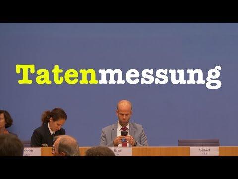 29. Oktober 2018 - Bundespressekonferenz - RegPK